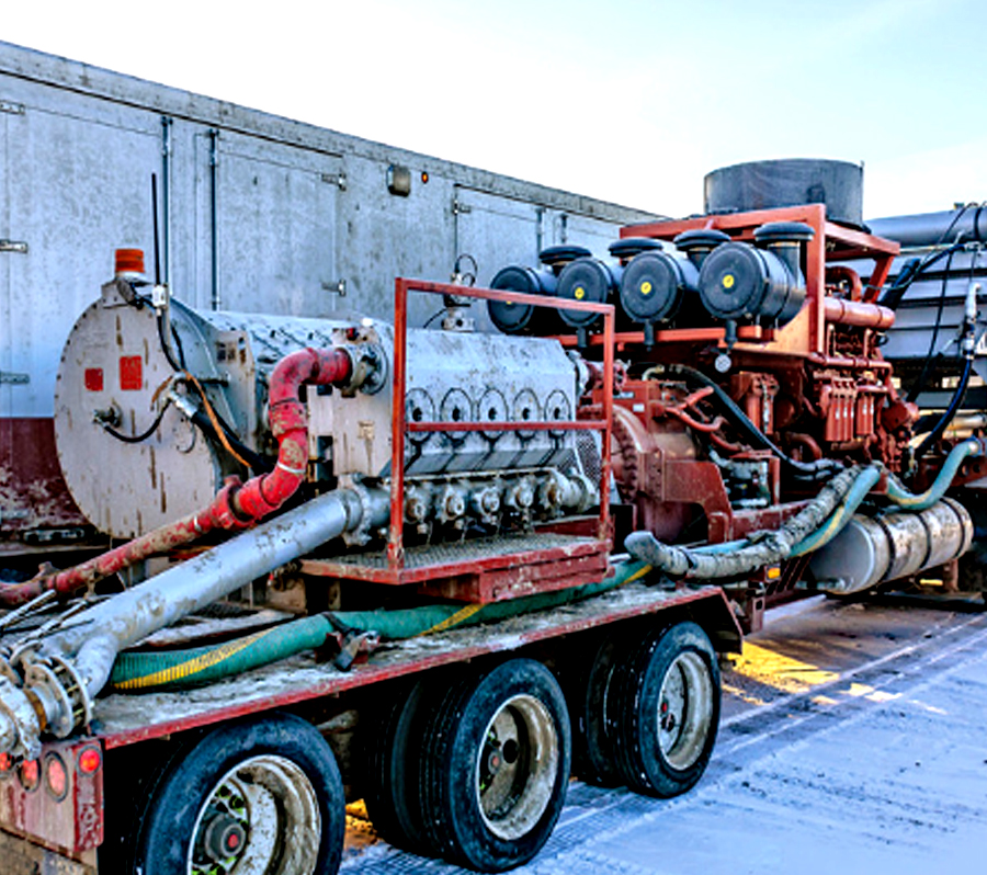 frac pump equipment repair recertification