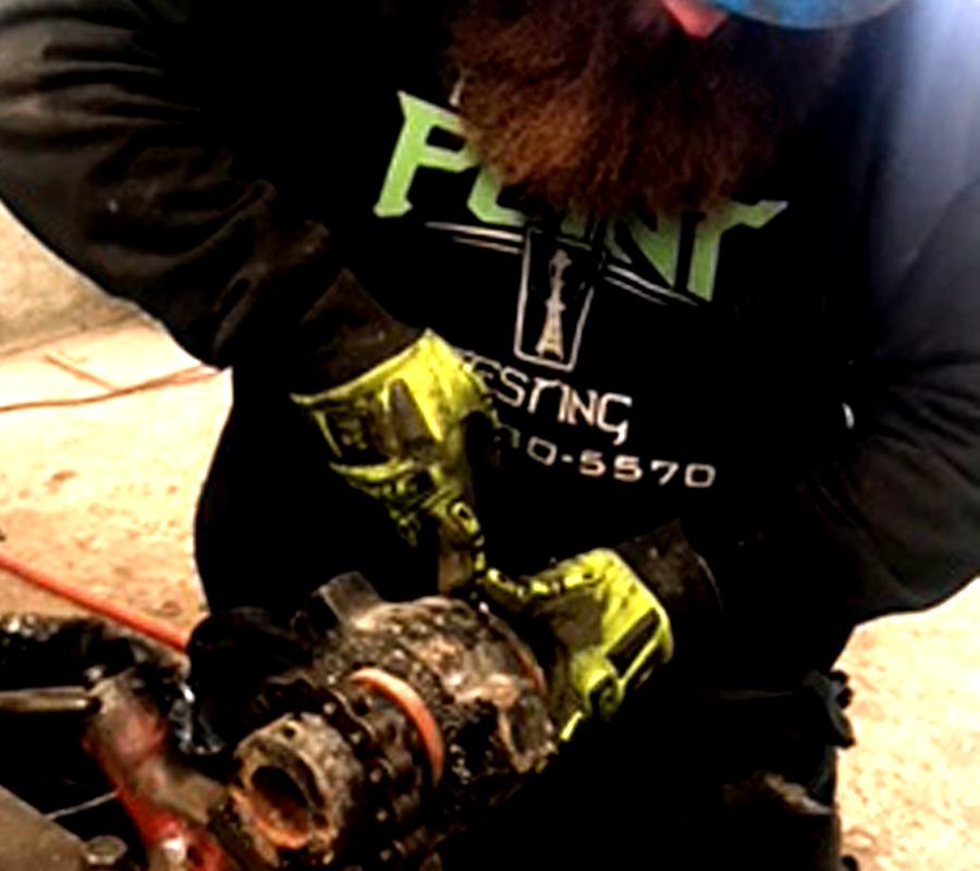 oilfield frac iron equipment repairs recertification