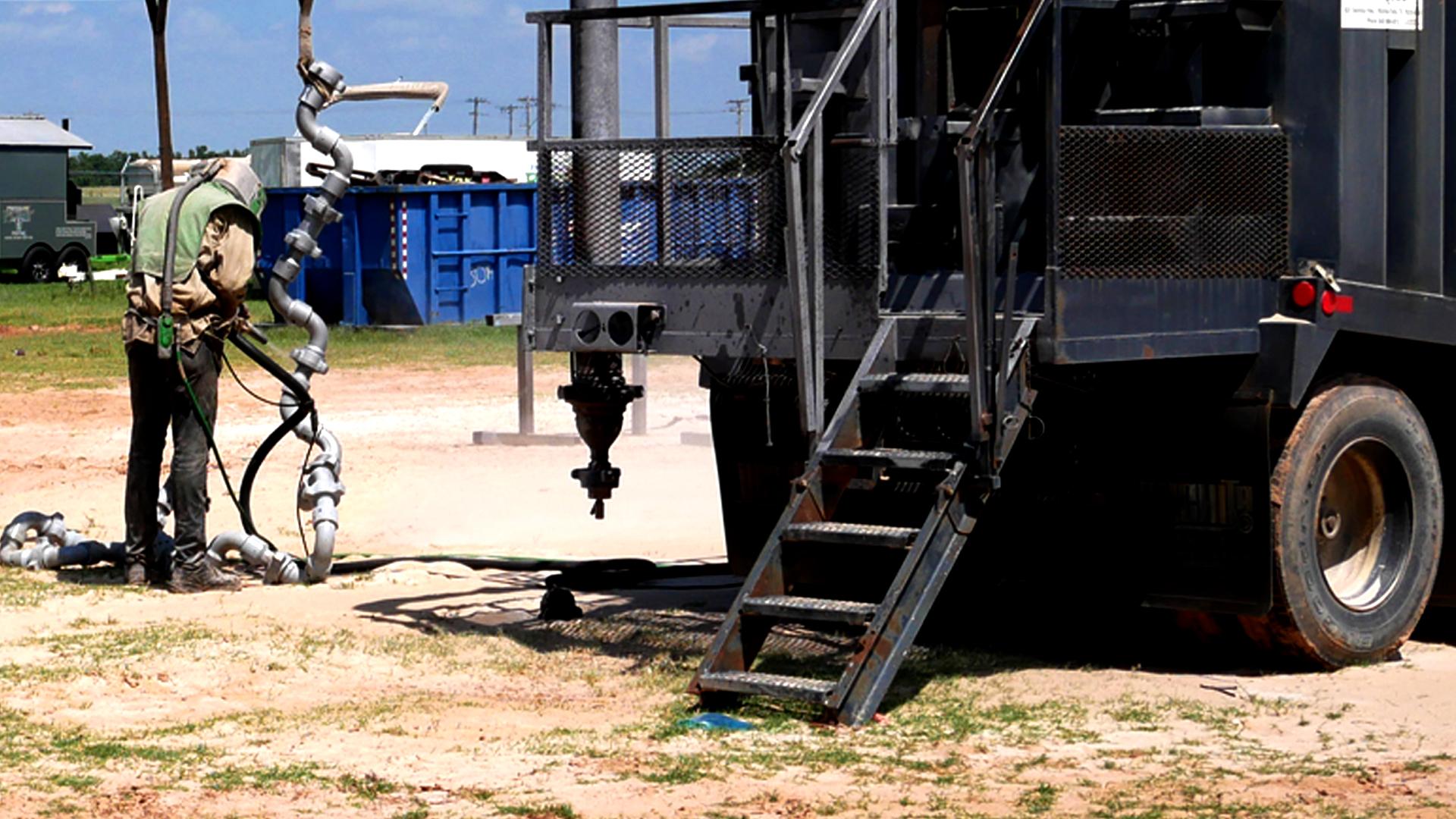 oilfield flow iron sandblasting repairs