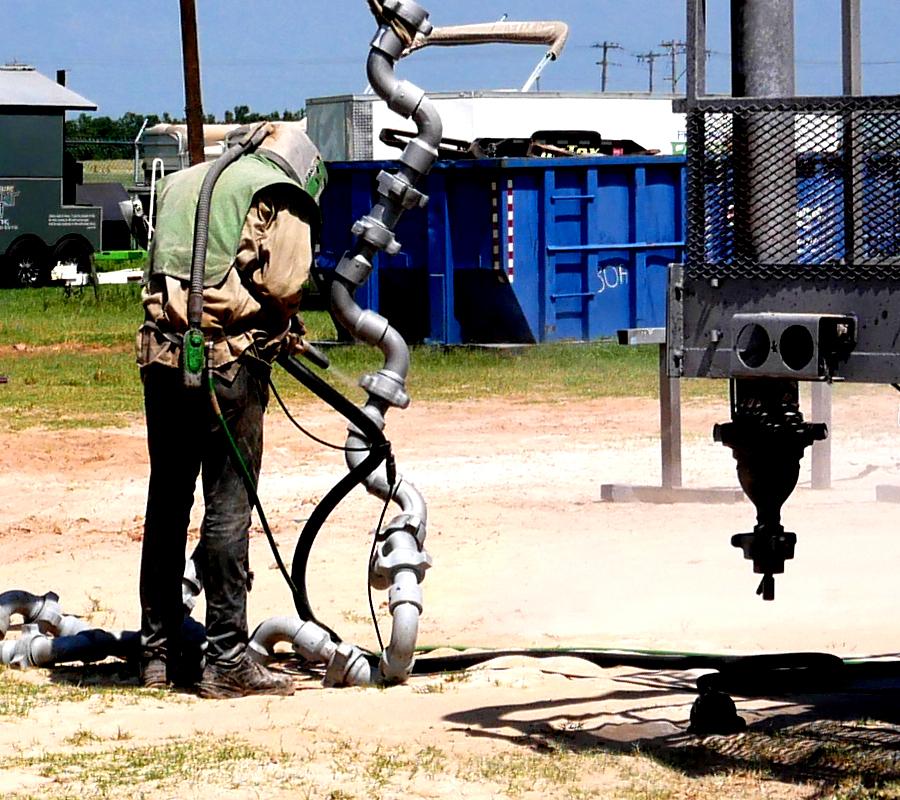 oilfield sandblasting & painting